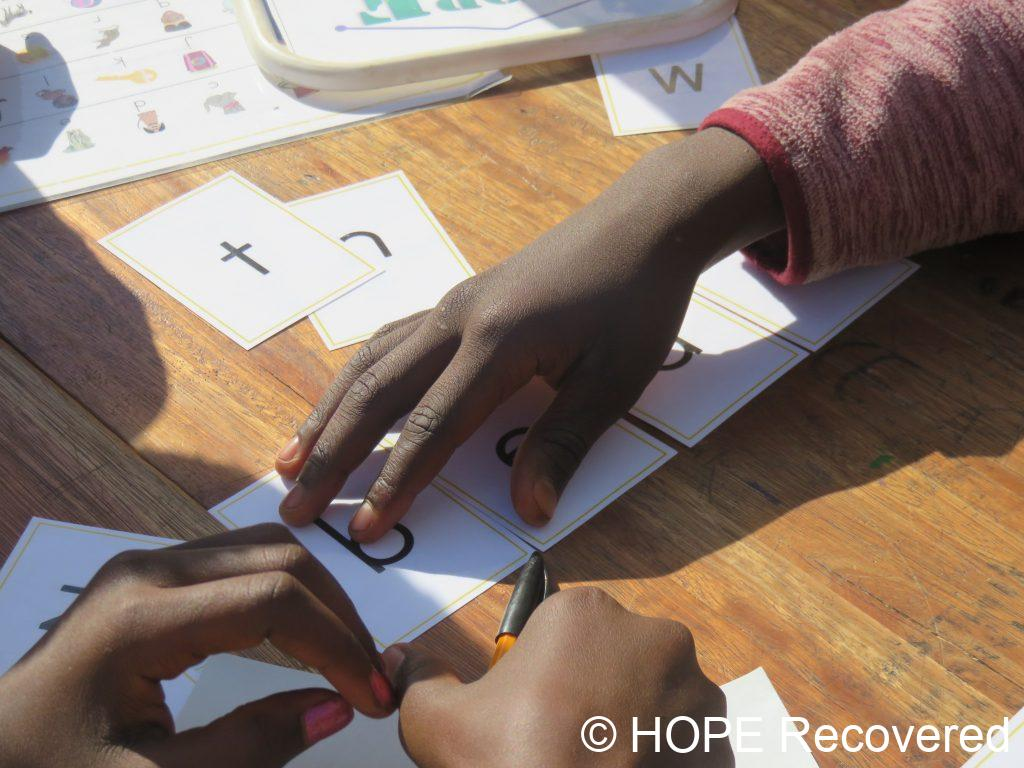 learning through play at the Holiday Reading Club