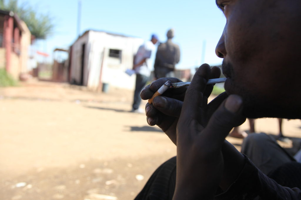 alcohol and drug abuse is a growing challenge among the youth in the township