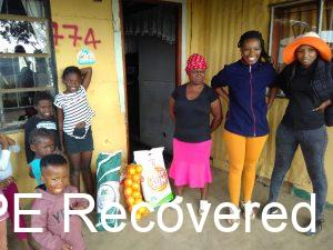 HOPE Recovered was blessed with food parcels to be a blessing to others